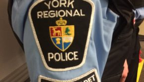 A York Regional Police student cadet's badge.