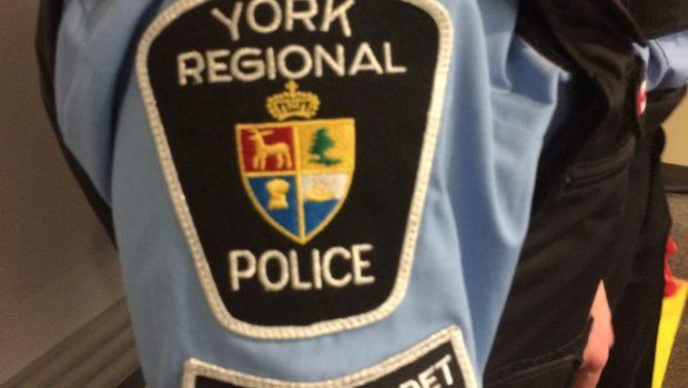 A York Regional Police student cadet's badge.