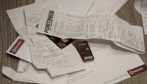 Pile of bills