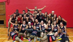 Guelph-Humber kin games volleyball champions